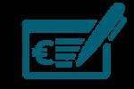 chèque icone